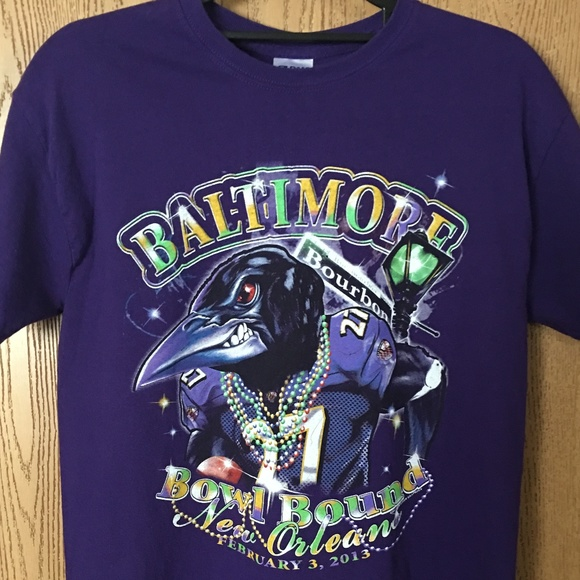 Baltimore Ravens Tshirt Size Medium